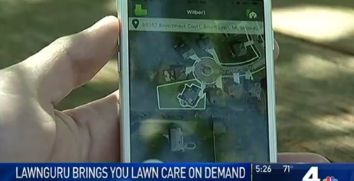 NBC Washingon LawnGuru Segment